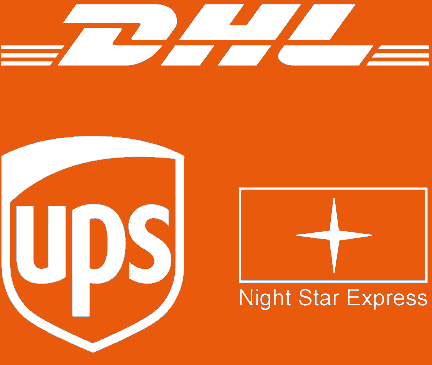 DHL, UPS, Night Star Express
